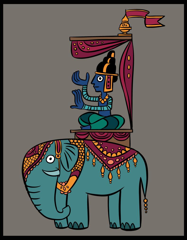 Elephant by MagicMushroomStudio