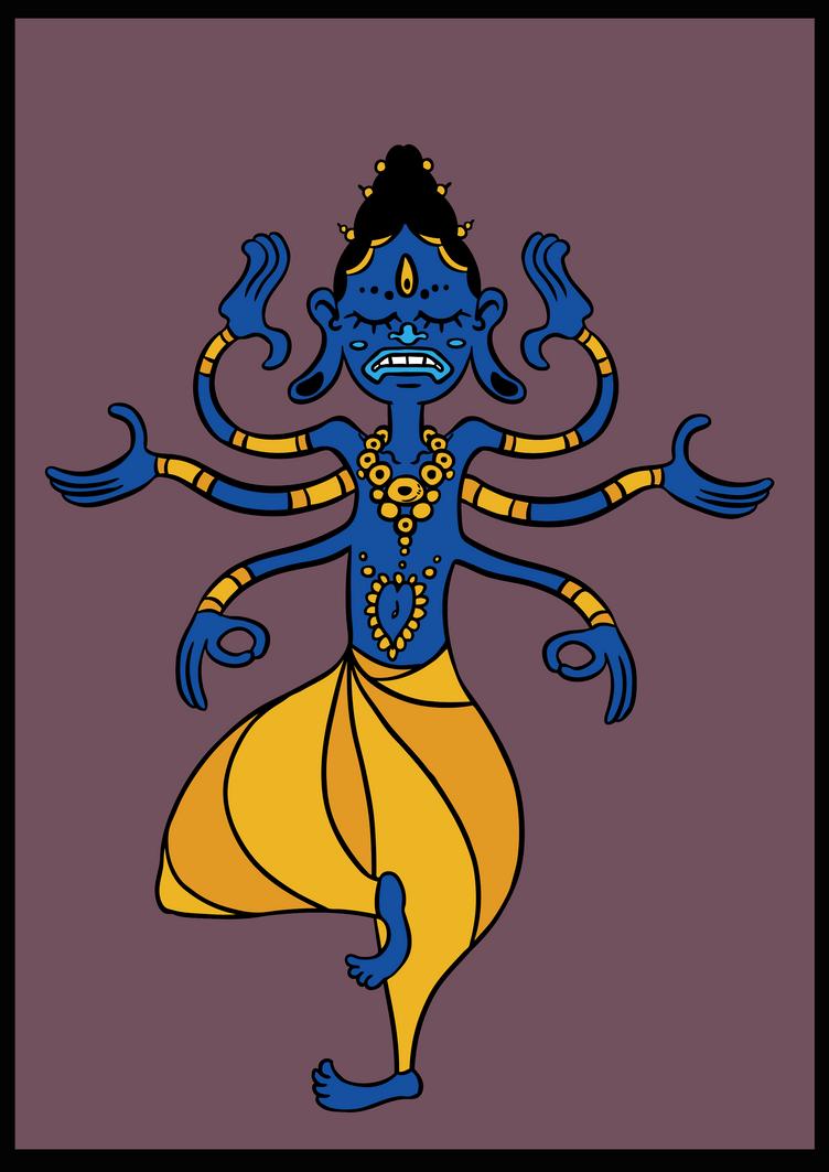 Shiva by MagicMushroomStudio