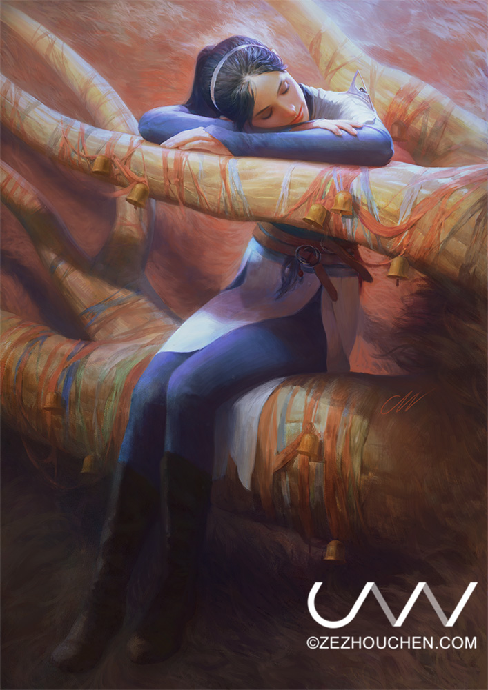 The Prophet's Dream 2( Lava Confession) V2 by Qrumzsjem