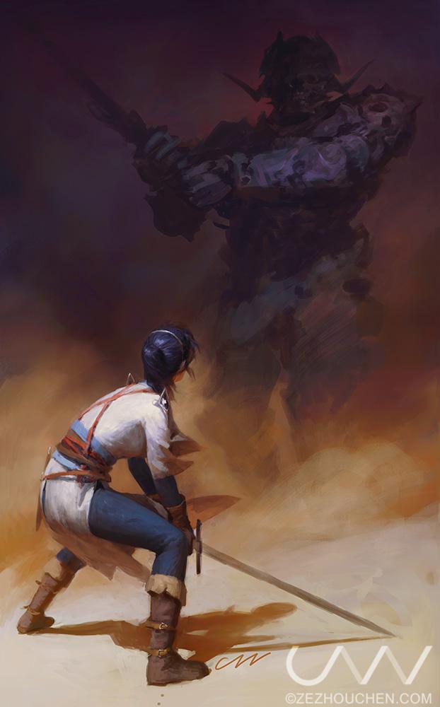 Knight of Lies by Qrumzsjem