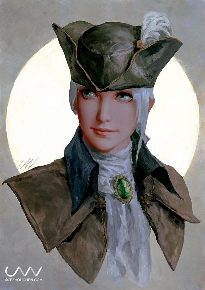 Lady Maria by Qrumzsjem