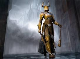 Knight of Sorrows by Zezhou