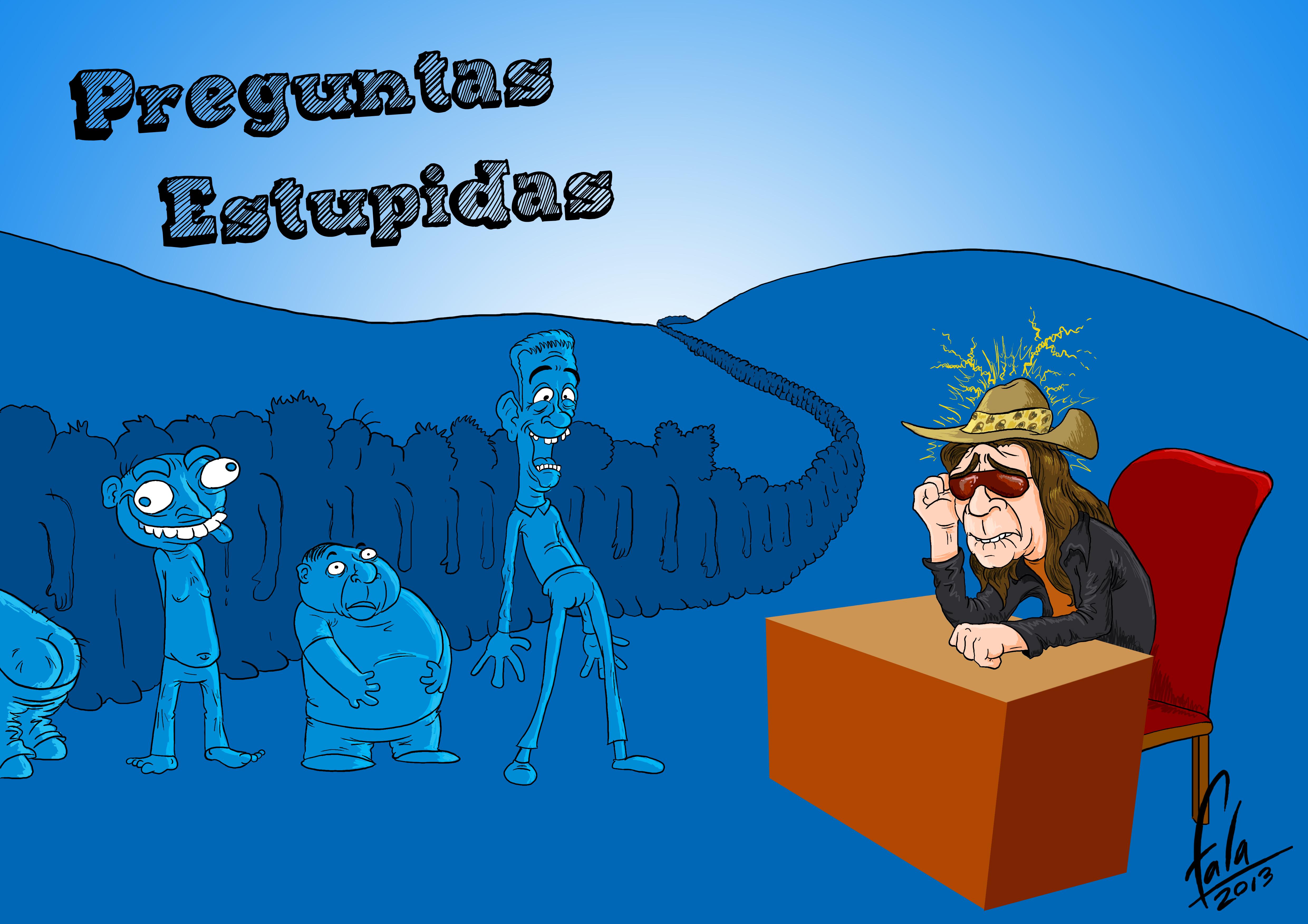Preguntas Estupidas by Falabella93