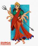 Durga by Alexmation
