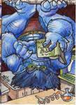 Beast Sketch Card 01