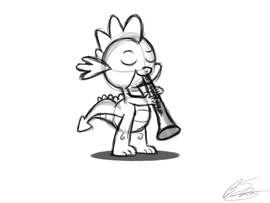Clarinet Drawing Step By Images amp Pictures Becuo