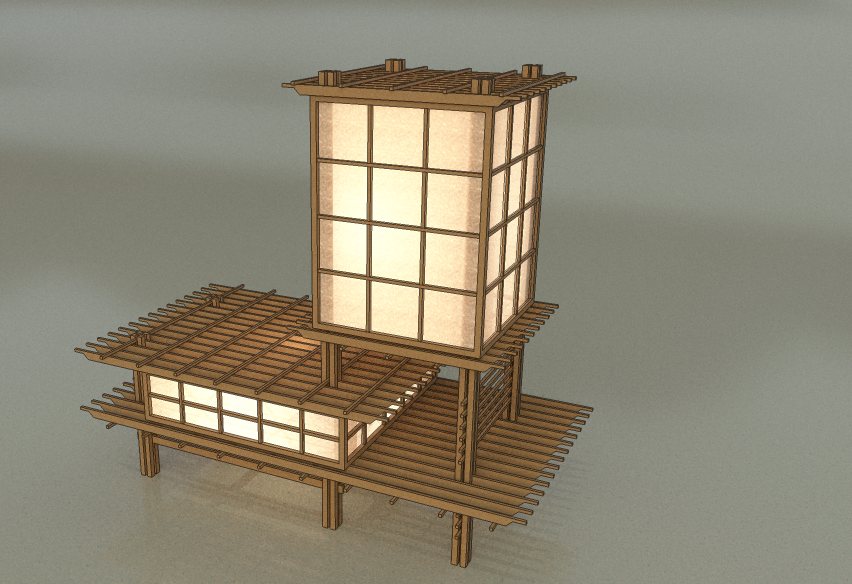 lamps lamp impressive shade shoji pane design decoration window inch sale make to how trendy