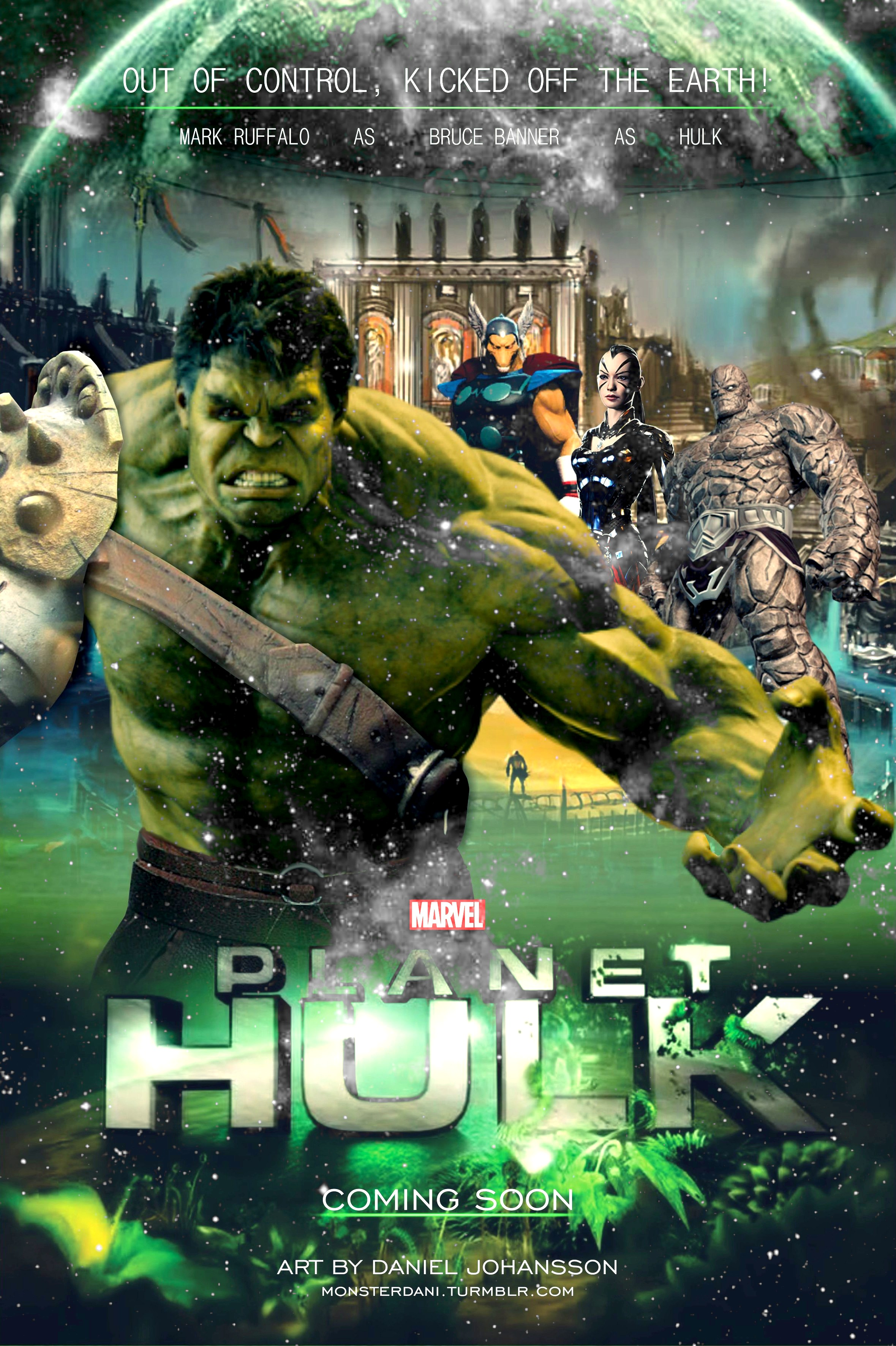 planet hulk by monsterdani on deviantart