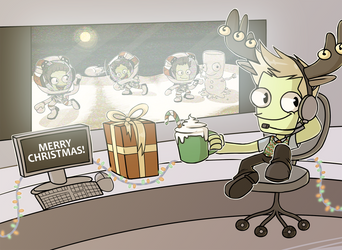 Merry Christmas from Mission Control!