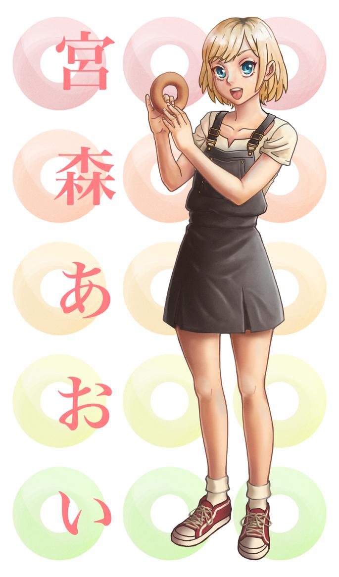 Miyamori Aoi by Rudik