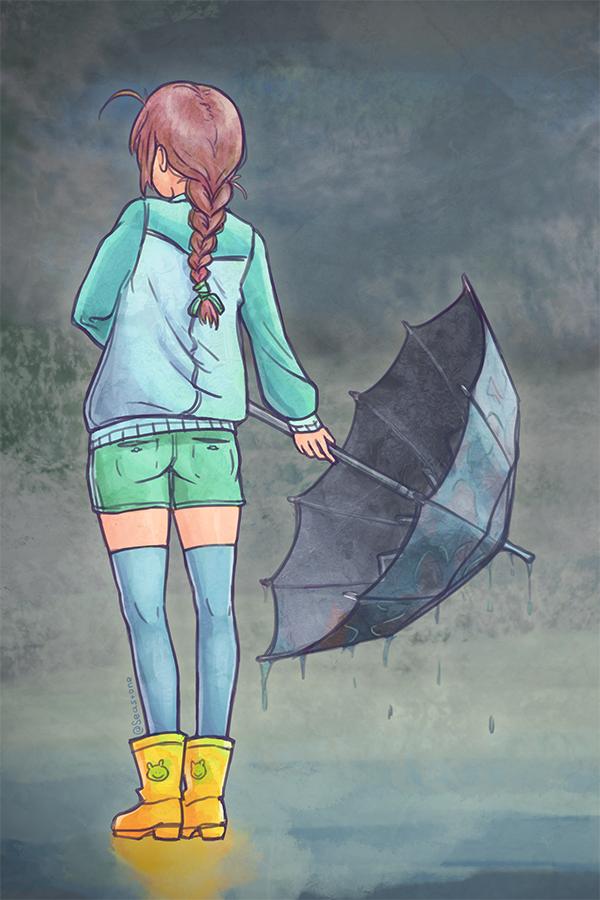 Automatic Umbrella by Rudik