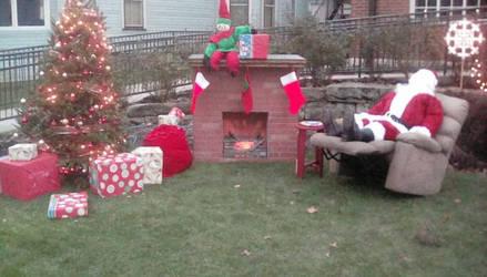 Outdoor Christmas Display take2