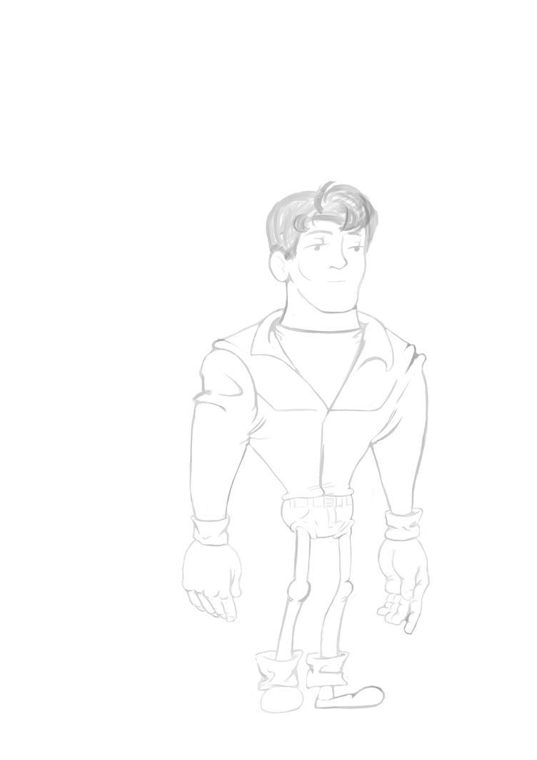 Chad Rocco sketch by salvagluque