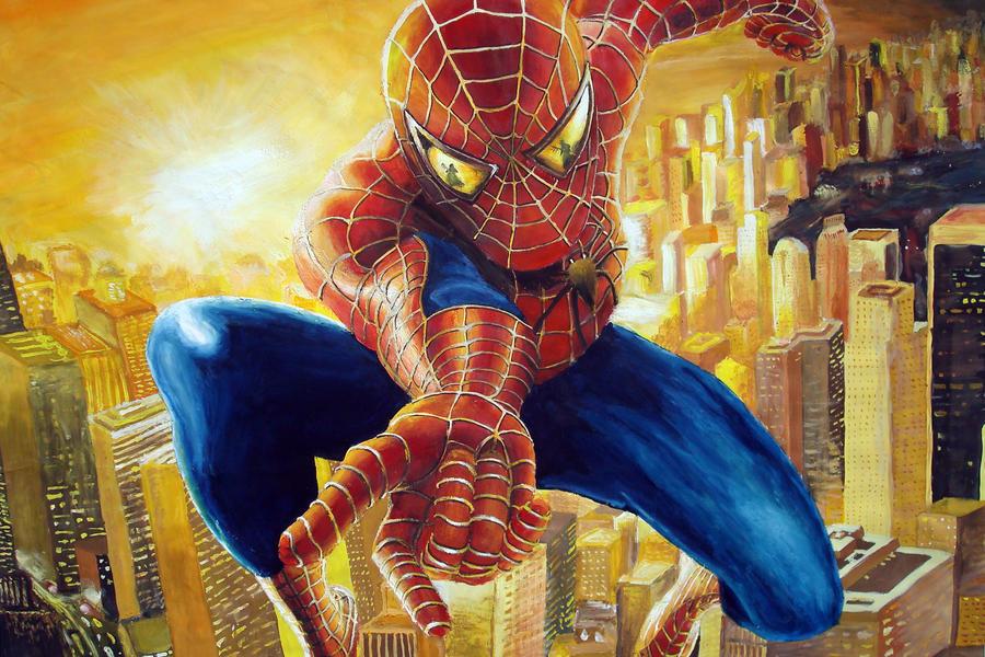 spiderman by Zhoudi