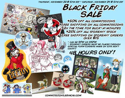 Black Friday Sale 2018 by Squiggalaimon