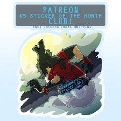 May 2019 Monthly Sticker (NSFW) - Werewolf TF