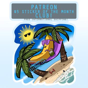 Banana Hammock - March 2020 Sticker