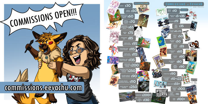 Commissions (FINALLY) OPEN!