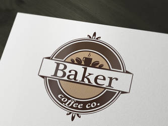 coffee logo by PesicDesign
