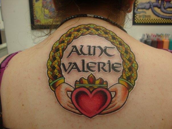 Memorial Claddagh Tattoo