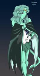 Gargoyle Neptune Colored by masumi-sayo