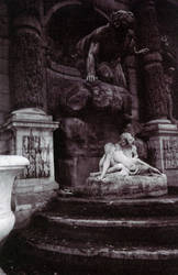 Garden Fountain by Garance