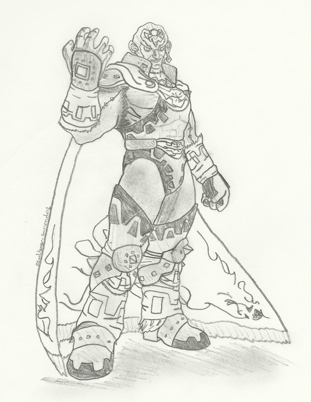 Evil King Ganondorf OoT3Ds by EvilKing-Ganondorf on DeviantArt