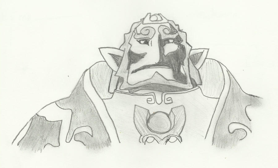 ganondorf coloring pages - photo#30