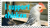 I support chicken stamp by SkippyWoodFood