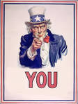 Uncle Sam says you by SkippyWoodFood