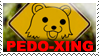 PEDO-XING stamp by SkippyWoodFood