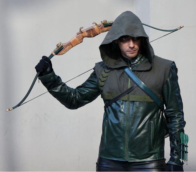 Green Arrow from Arrow TV show by wickley