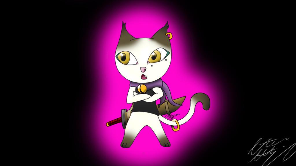 kitty kunoichi by halflife103