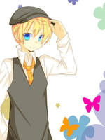 Kagamine Len by inabachan5502