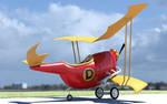 Dick Dastardly's Flying machine