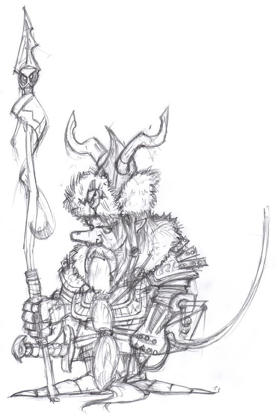 Dwarf lancer by rapscallionmonkey
