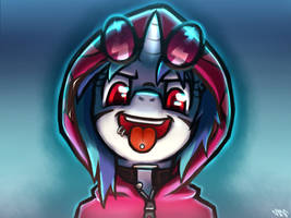 Vinyl Tongue Pic Thingy by LigerStorm