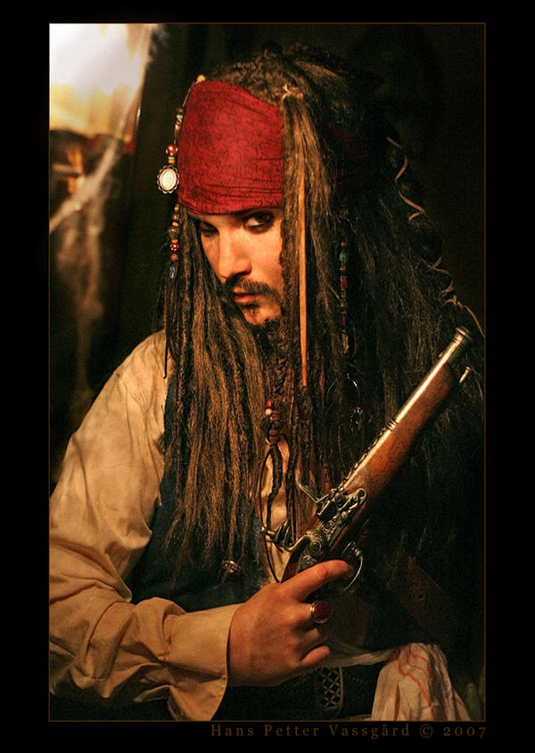 Captain Jack Sparrow Cosplay by TatharielCreations