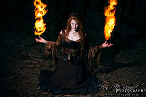 Sorceress I by TatharielCreations