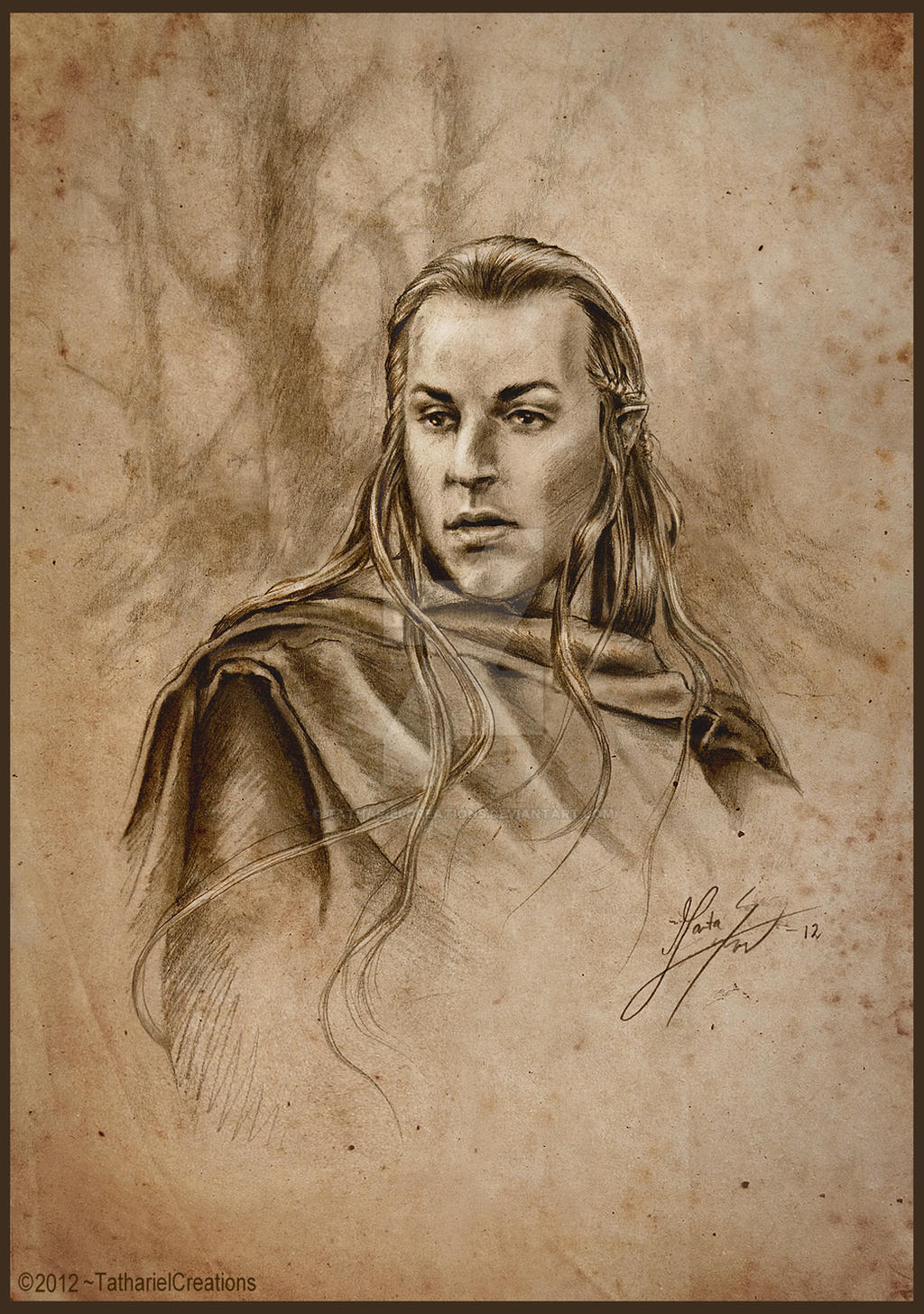 Haldir - Marchwarden of Lorien by TatharielCreations