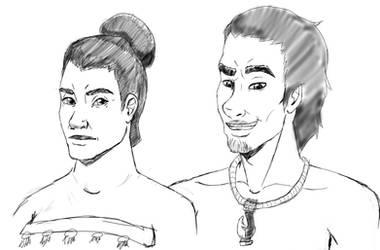 Royal Twins by drawingshady
