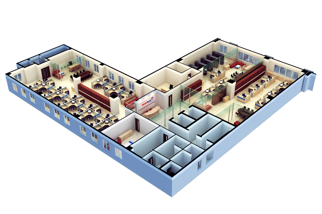 Floor plan 3d by nnq2603 on deviantart for 3d office planner