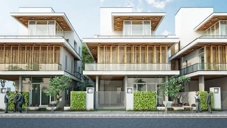 Villa type 3 front