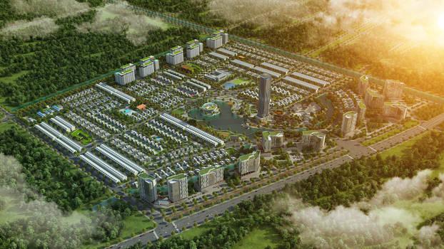 City 3D project 6K