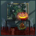 Halloween Pumpkin 3D by nnq2603