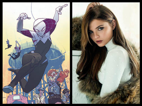 Spider-Gwen Gwen Stacy movie casting ideas by Slime-Series