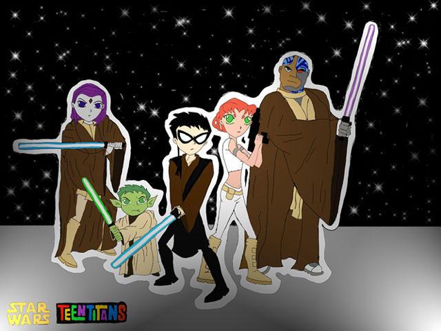 Exceptionnel Teen Titans - Star Wars theme by CyborgTT on DeviantArt NP63