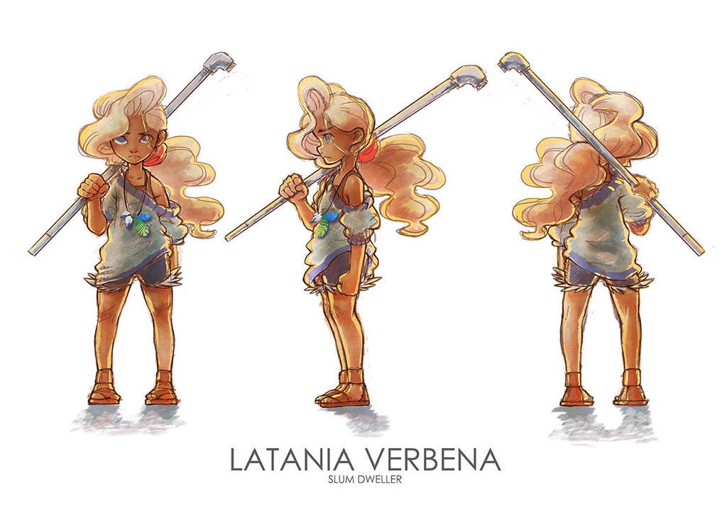 Latania character sheet by tiny-mint