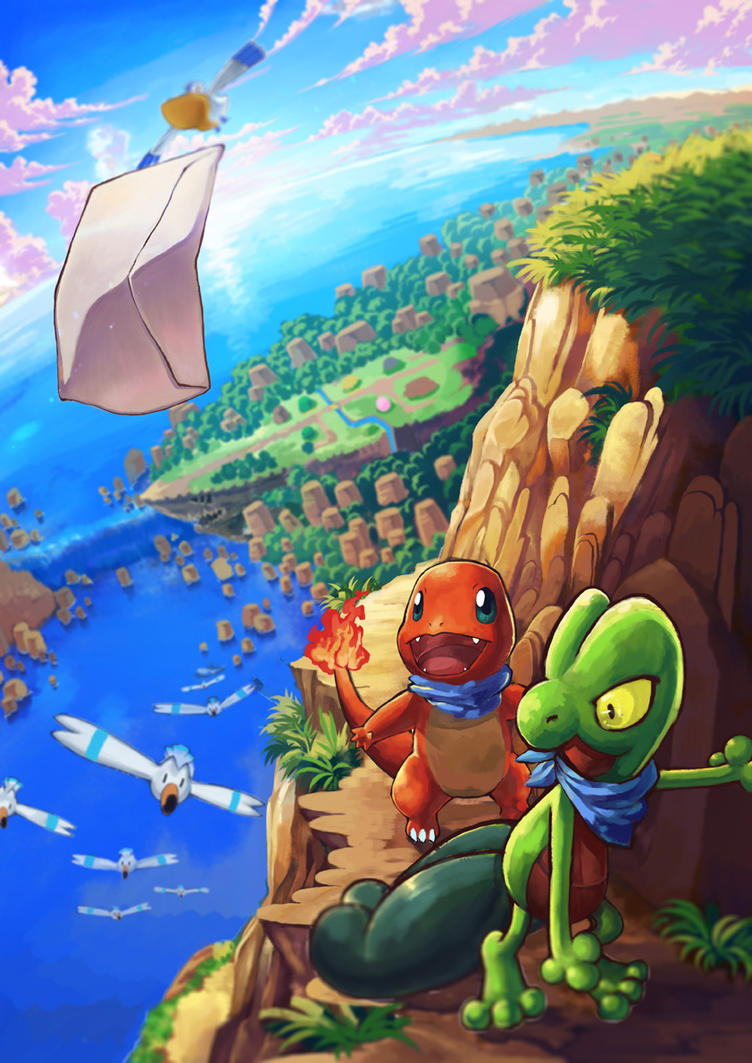 Pokemon Mystery Dungeon by tiny-mint