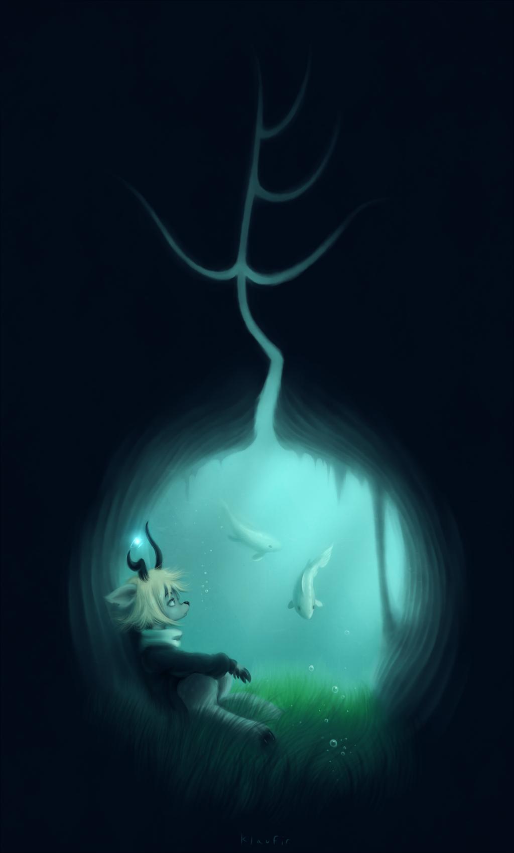 Green Grass of Tunnel by Klaufir